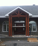 Wood Front Entrance 1